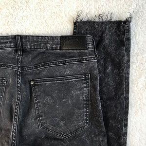 H&M &DENIM Jeans Super Skinny Low Waist Ankle 31